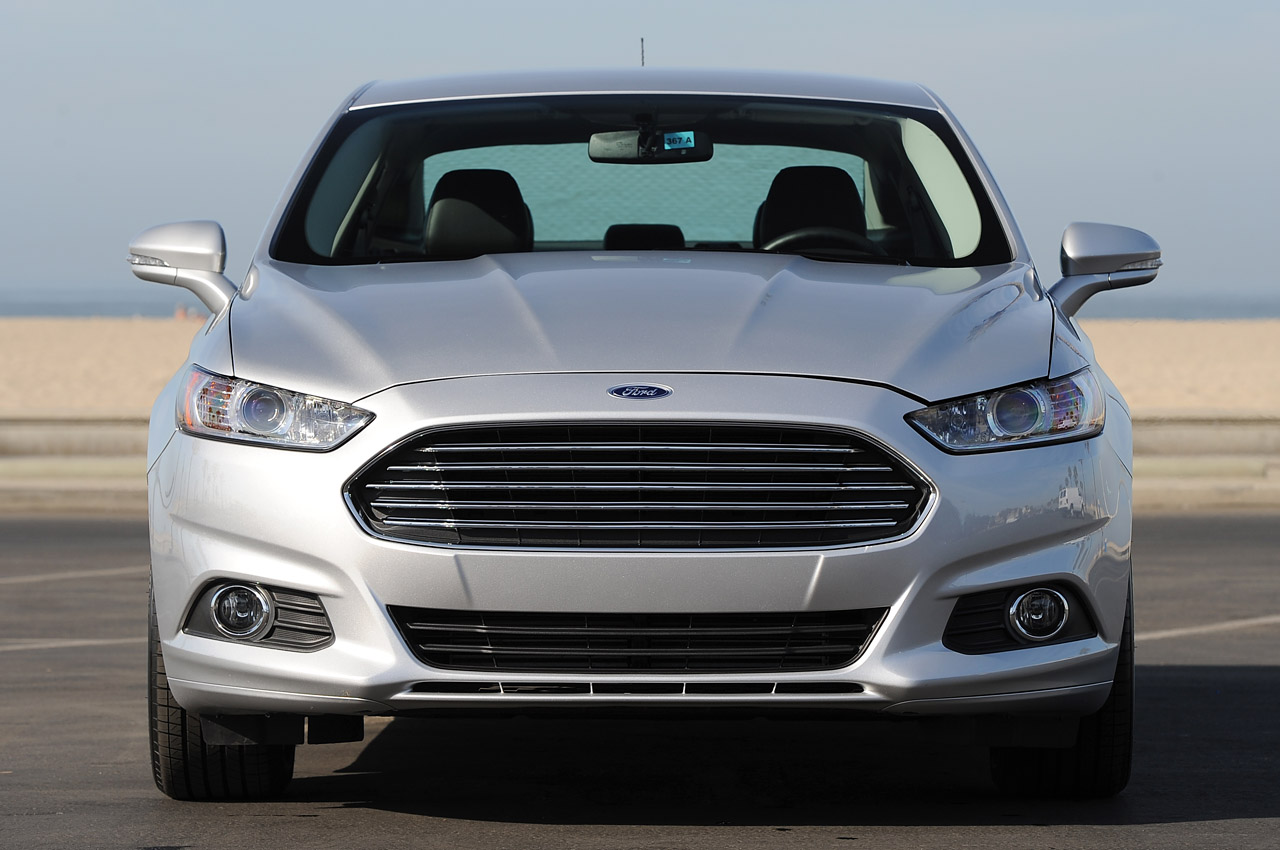 Driving The 2013 Ford Fusion