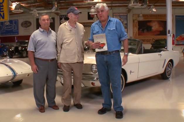 Lee Iacocca and the 2015 Mustang Visit Jay Leno's Garage